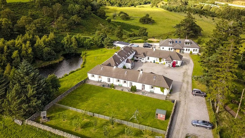 Highland Holiday Cottages Aerial View