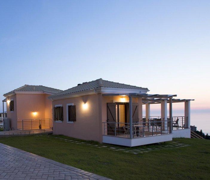 Villa de lujo con vistas al mar Irida sin fin