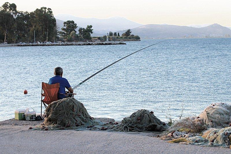 Fishing time in Kiveri village