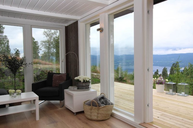 New cabin with a nice lake view, holiday rental in Eastern Norway