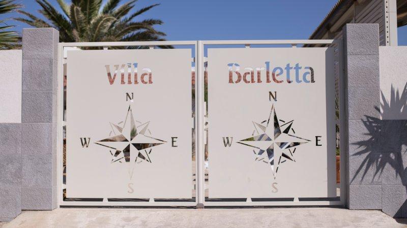 Villa Barletta appartamento a piano terra numero 1, holiday rental in Acate