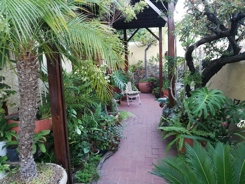 Spacious, 2 bedroom apartment with private garden, in trendy Tamboerskloof, alquiler de vacaciones en Cape Town