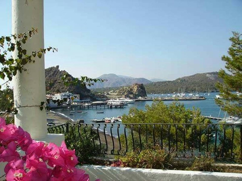 exclusive villa on the sea with direct beach access. suitable for families with children.