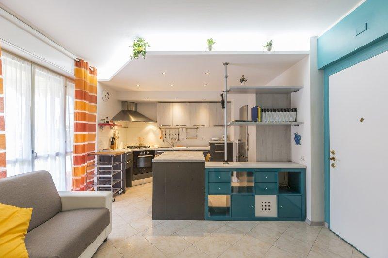 Cozy 1 BR in the residential Lorenteggio, casa vacanza a Corsico