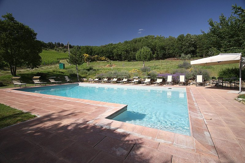 Serravalle Villa Sleeps 6 with Pool Air Con and WiFi - 5228916, vacation rental in Pontassieve