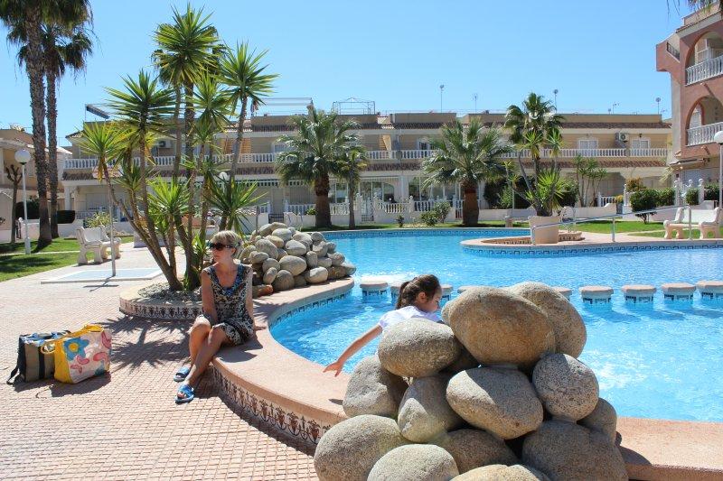 Una delle 2 piscine del complesso El Divino.