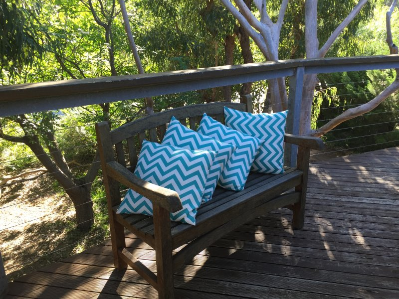 Moore seating on the deck!