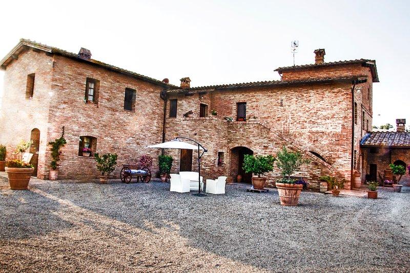 Casa Vacanze San Pierino - Capanna, Ferienwohnung in Monteroni d'Arbia