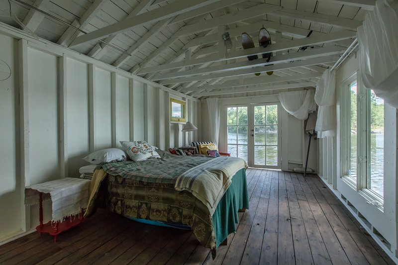 cobertizo cama bunkie