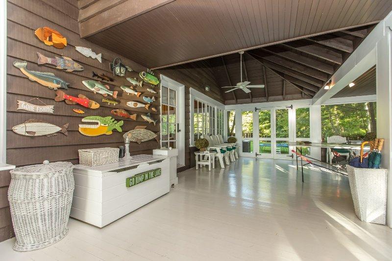 Muskoka porch