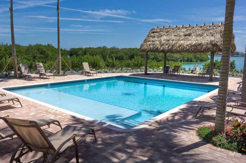 Pool and Tiki Hut