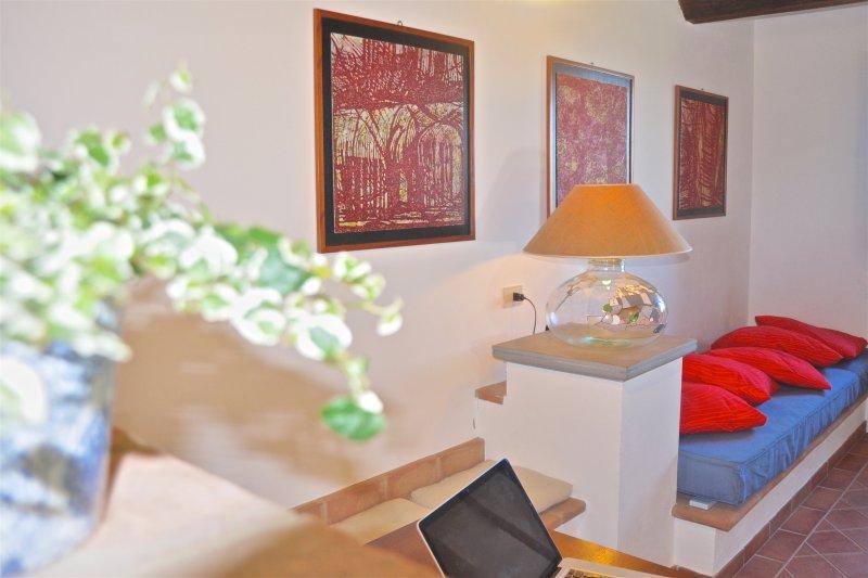 Saturno - Splendido appartamento tra Umbria e Toscana, casa vacanza a Panicarola