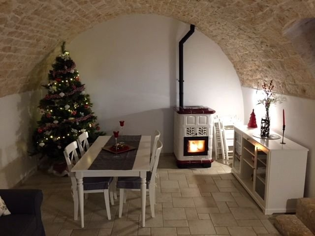 Christmas atmosphere in trulli