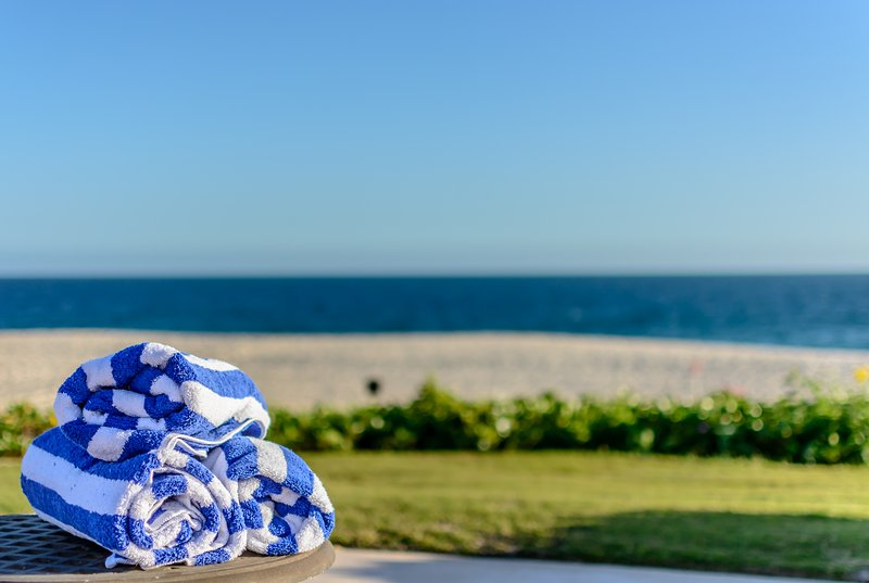 Blick auf den Strand Tranquility