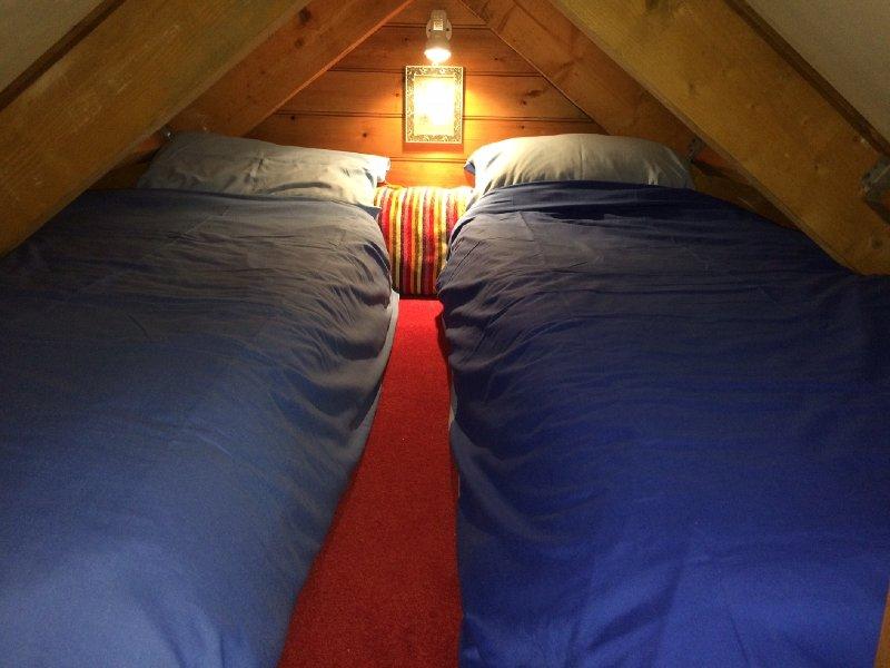 Dormir para 2 pessoas no Ninho do Corvo