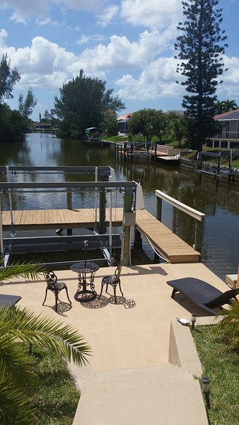 Dock kant patio