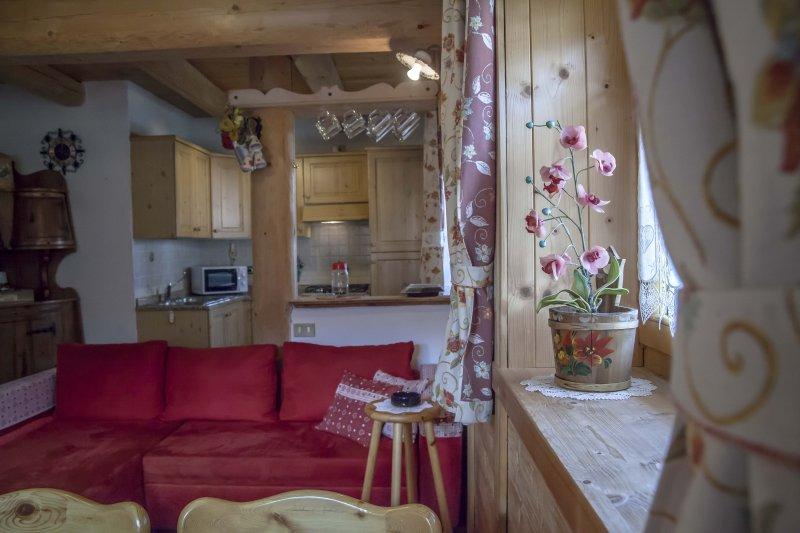 Wohnen in Richtung Küchenbereich