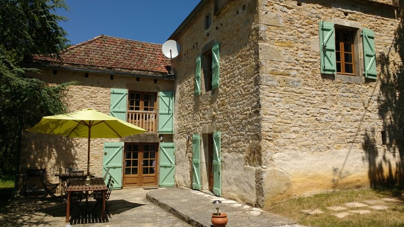 Mille Founs  (Country Houses in France), holiday rental in Ginals