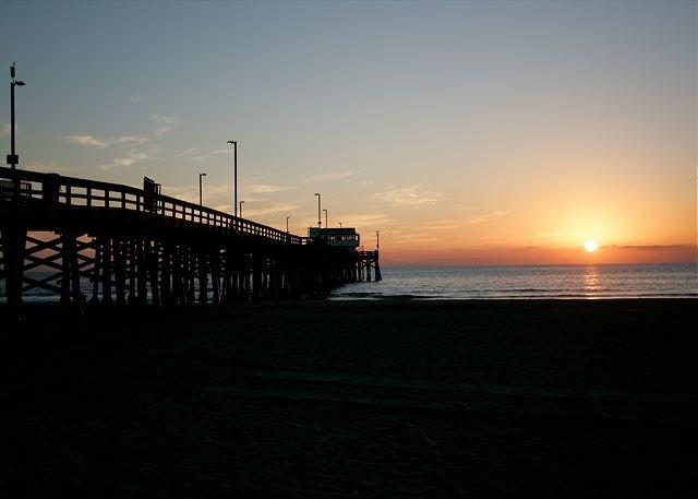 Ocean Views Overlooking the Newport Beach Pier