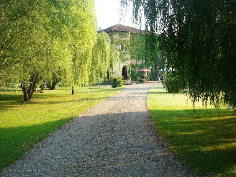 Camino que conduce al castillo