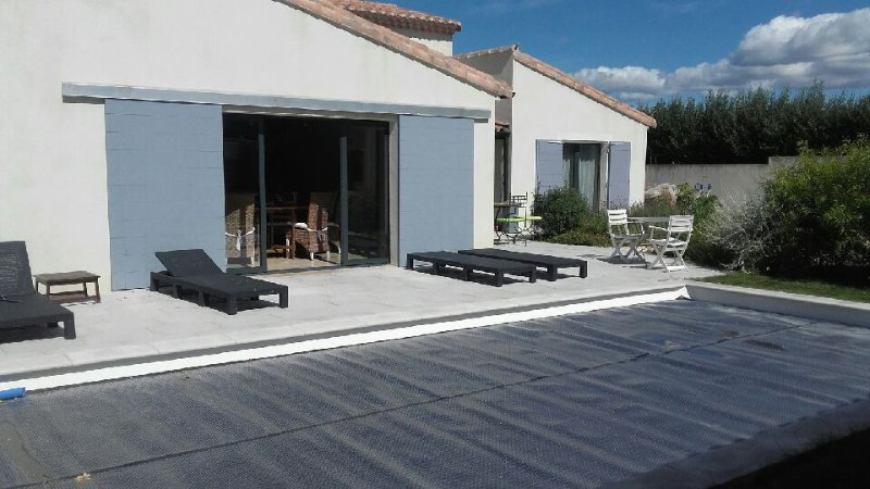 Terrasse / privater Pool