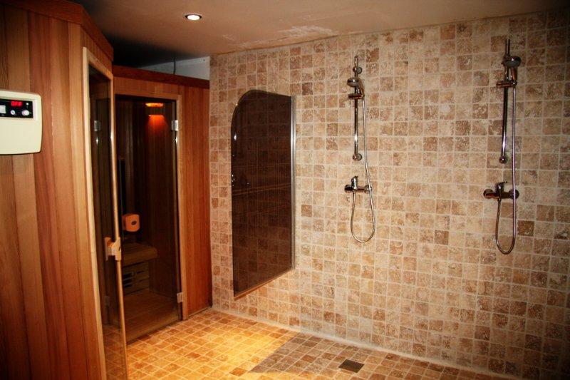 Welness con sauna clásica e infrarroja
