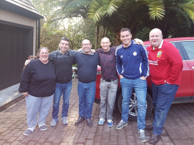 Our other Lions Rugby Supporters who enjoyed our hospitality.
