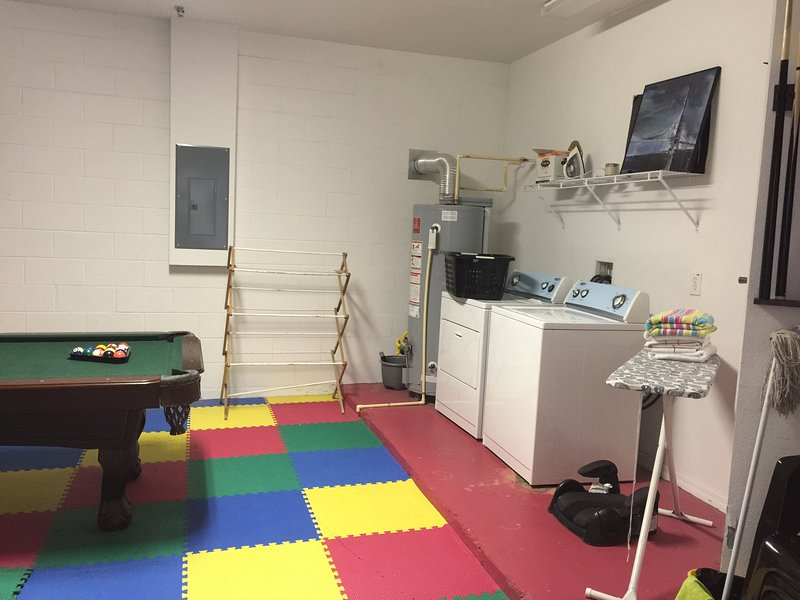 Laundry Room/Game Room