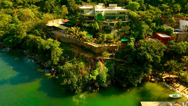 Villa Armonia areal view