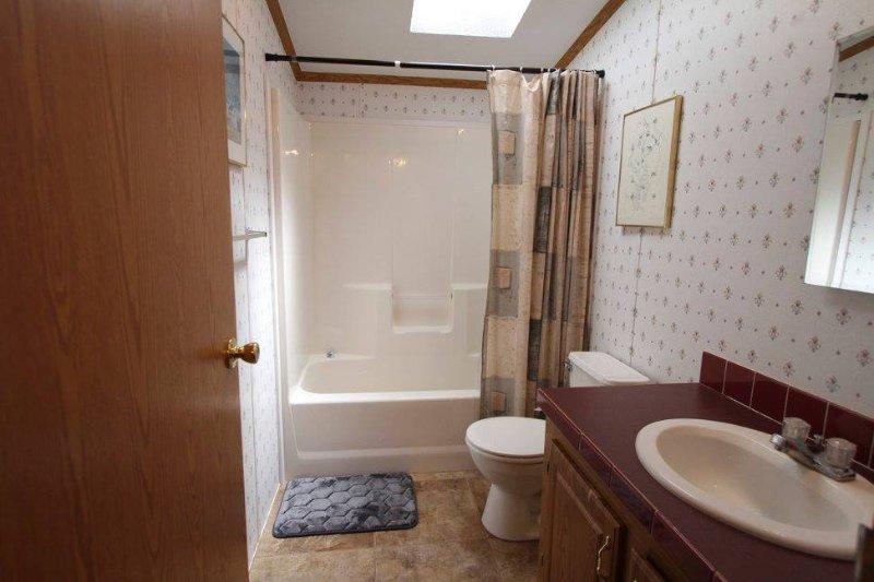 El baño de visitas
