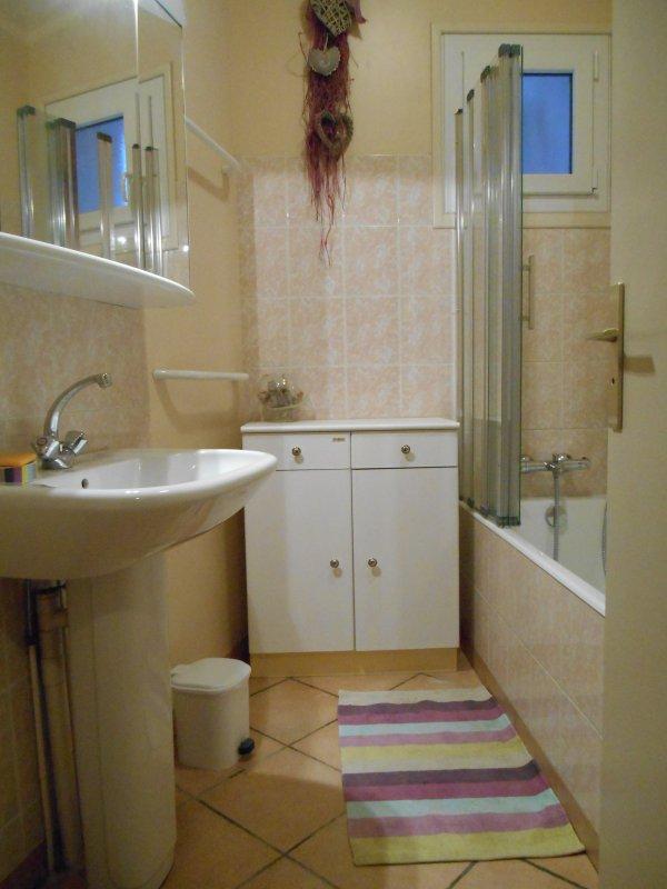 Zimmer im Erdgeschoss Badezimmer