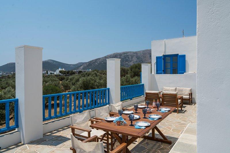Captain's Home-ART, alquiler vacacional en Sifnos