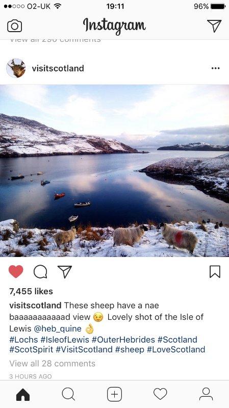 Visit Scotland raadt Lemreway !!