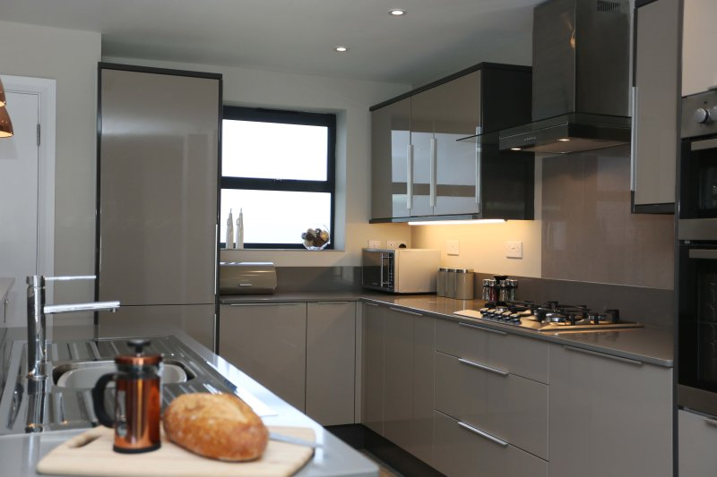 Contemporary, well equipped kitchen