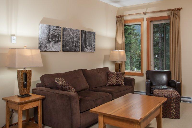 Maravillosa, amplia sala de estar - tenga en cuenta que las vistas pueden variar