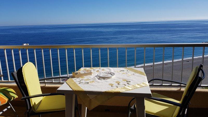 Maravillosa vista al mar