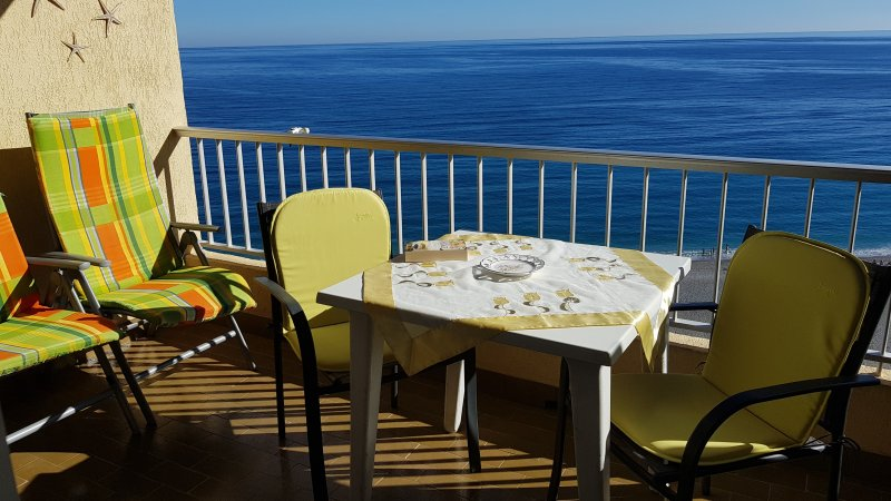 Balcony with sea view Apartment Elomar