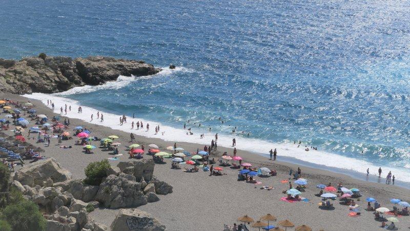 Elomar Vista Mar, primera linea de la Playa,, alquiler vacacional en Almuñécar