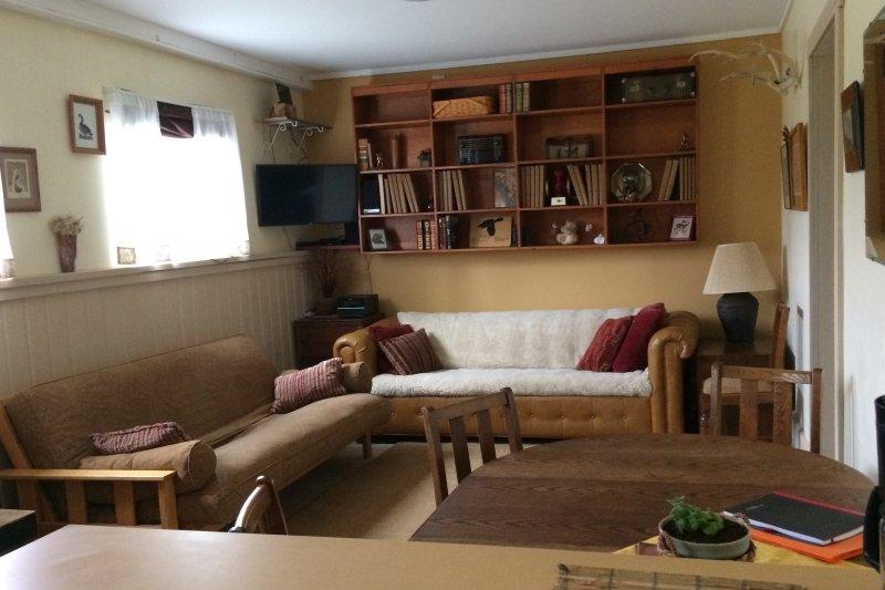 Comfy Retreat - can sleep  4 - Central Location!, aluguéis de temporada em Gustavus