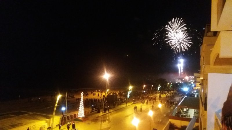 New Year's celebrations