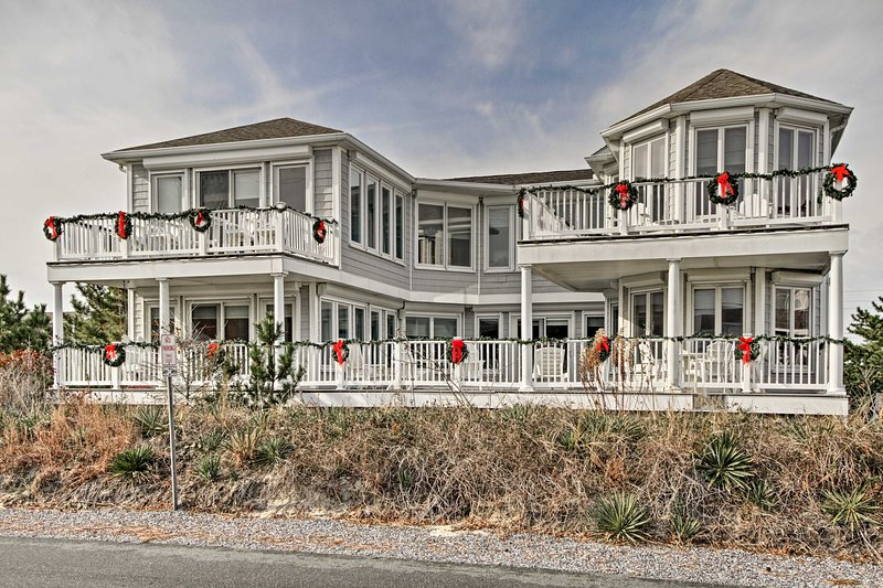 Experience the pristine and peaceful beach of Fenwick Island from this 6,000-square-foot vacation rental house!