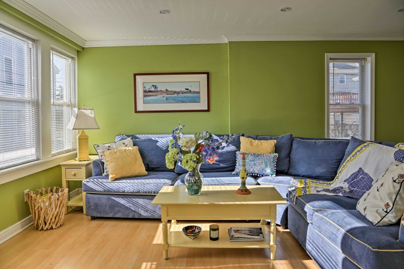After exploring the boardwalk, return to this 3BD/2BA vacation rental house!