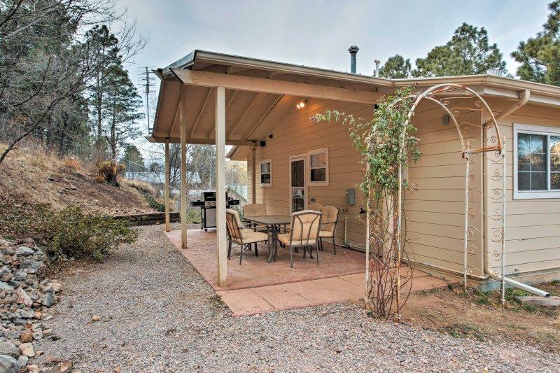 Réservez votre escapade Ruidoso dans cette maison de location de vacances entre particuliers!