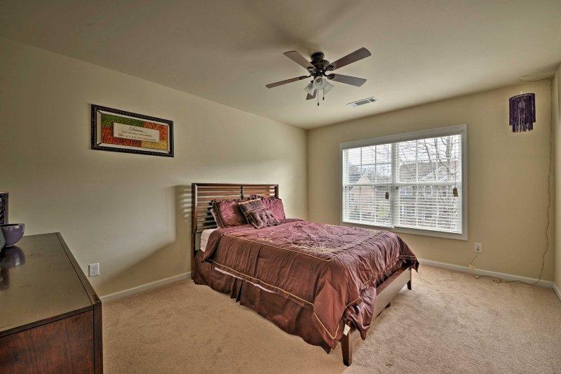 Os clientes adicionais dormir tranquilamente neste acolhedor queen-cama.