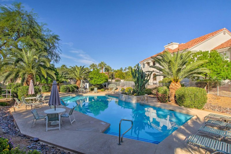 Escape to Scottsdale at this 2-bed, 2-bath vacation rental condo!