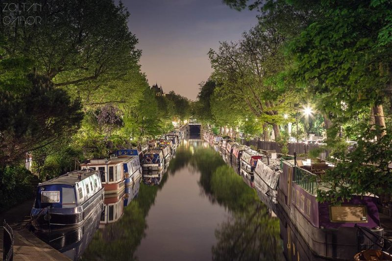 Walk to nearby Maida Vale and check out Little Venice...