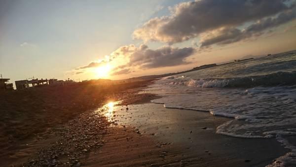 Profitez du merveilleux coucher de soleil tout en restant dans mon appartement.