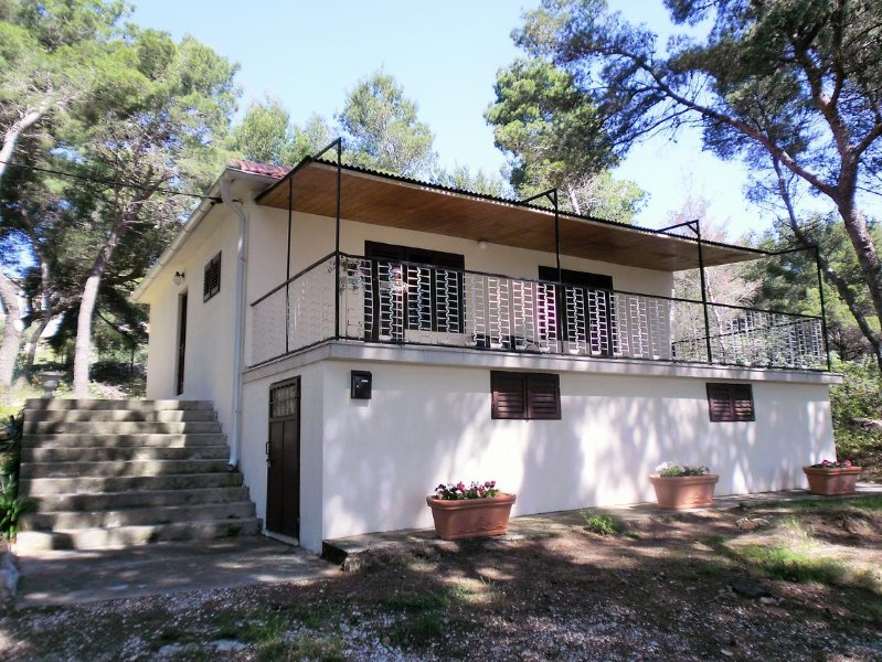 Two bedroom house Sumartin, Brač (K-12047), location de vacances à Sumartin