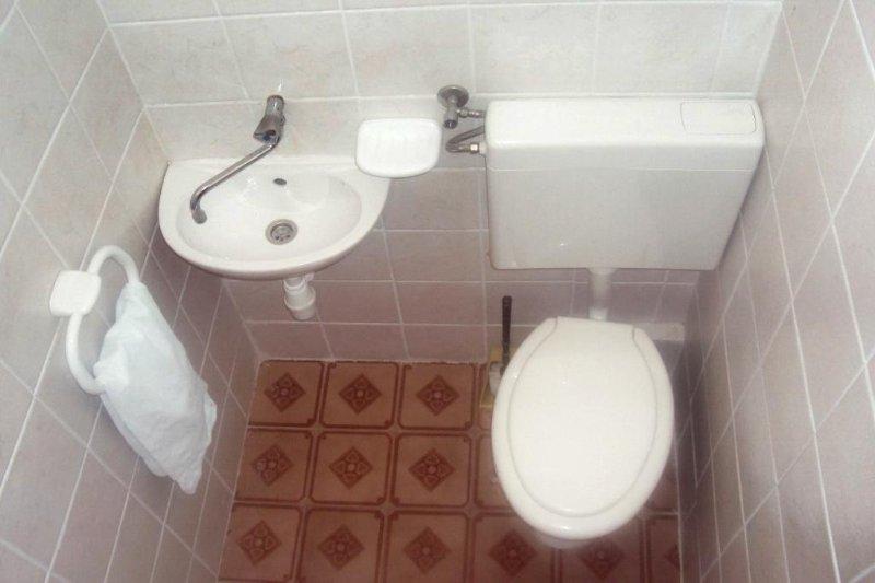WC 3, Oberfläche: 1 m²