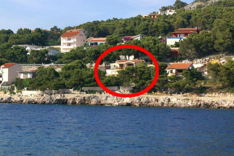 Four bedroom apartment Bilo, Primošten (A-4176-c), location de vacances à Grebastica